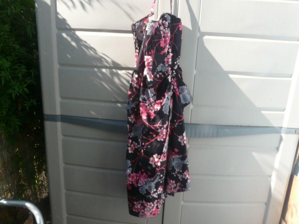 VINTAGE HAWAIIAN KAMEHAMEHA CHERRY BLOSSOM SUN DRESS