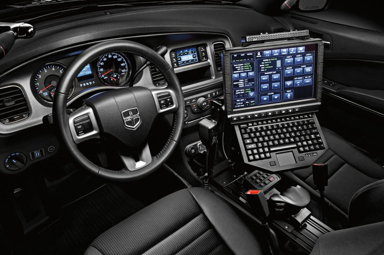 2012 Dodge Charger Pursuit Police Vehicle Interior Car Interiors