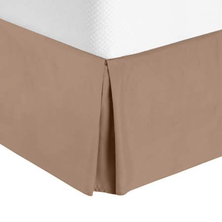 Nestl Bedding 14 Inch Tailored Pleated Bed Skirt Dust Ruffle Cal