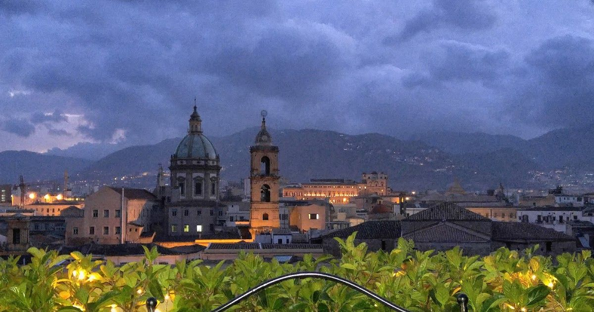 Rooftop view, Palermo, Sicily Sicily, Palermo, House styles