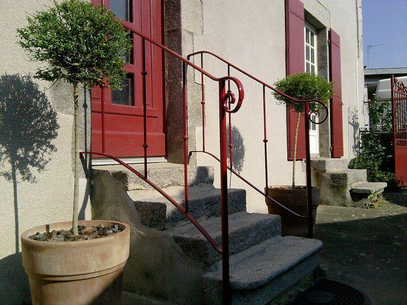 Rampes d\'escalier extérieur en fer forgé | idees deco | Pinterest