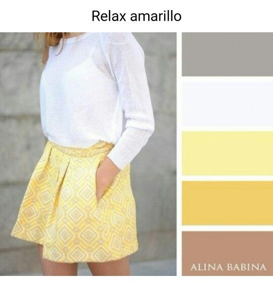 Amarillo y blanco