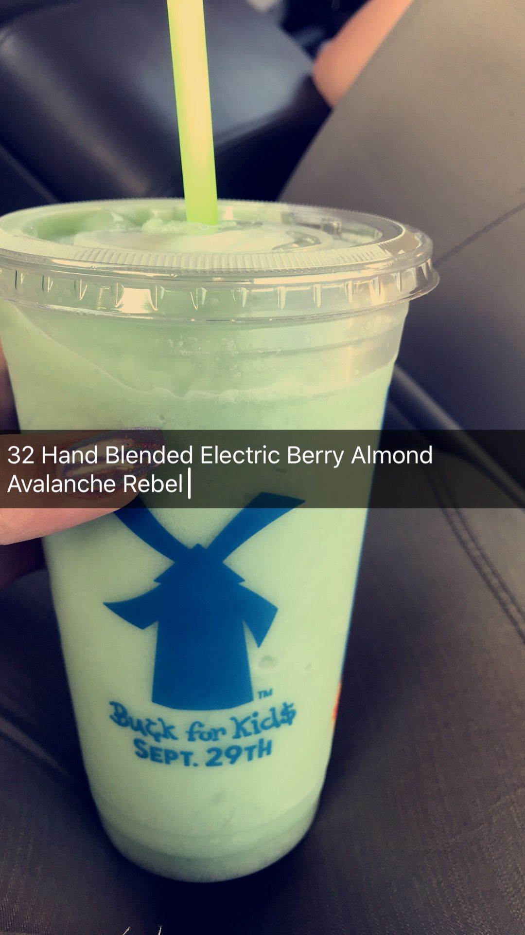 Dutch Bros 32oz Hand Blended Electric Berry Almond Avalanche Rebel energy drink  #dutchbros #rebel #drinks #caffine #db #dutchbros