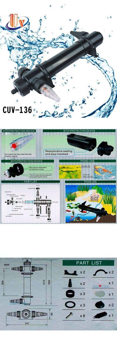 Uv Sterilizers 117434 Aquarium Uv Sterilizer 36w Light Fish Tank Clarifier Pond Koi Reef Pump Filter Buy It Now Fish Tank Aquarium Fish Tank Aquarium Fish
