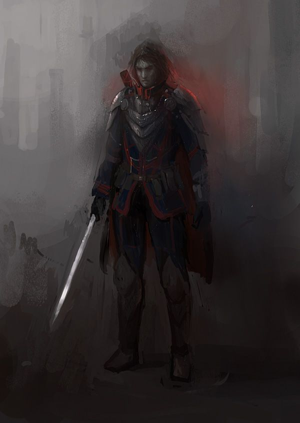 Fantasy Art Picture Vampire Male Armor