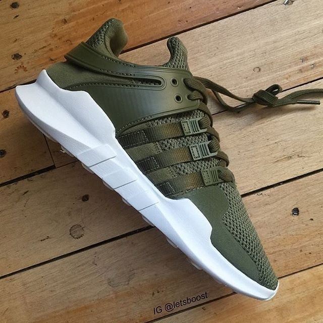 abdde90c040 First look at the adidas EQT ADV Green by  letsboost  thesolesupplier