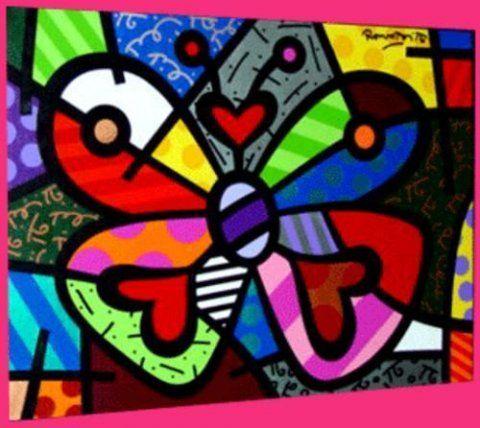 da21e5f23 Ateliê Coloriz: Romero Brito- coleção | natureza | Arte pop, Arte ...