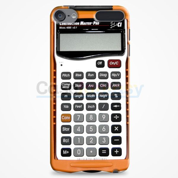 Retro Calculator iPod Touch 6 Case | casefantasy