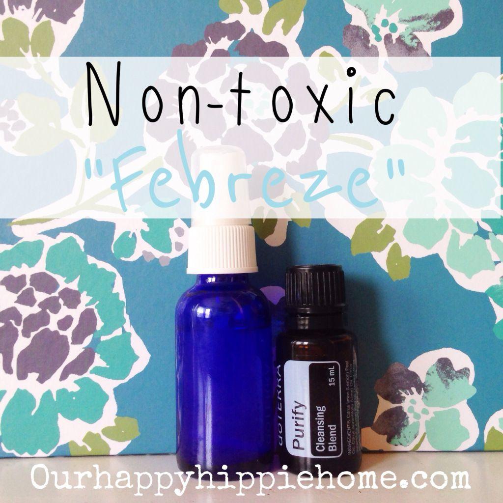 """Non-toxic DIY """"Febreeze"""""""