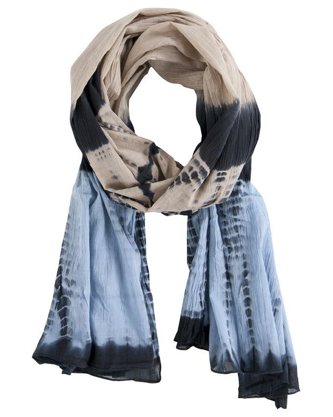 Black Lily Scarf Malou Tie Dye