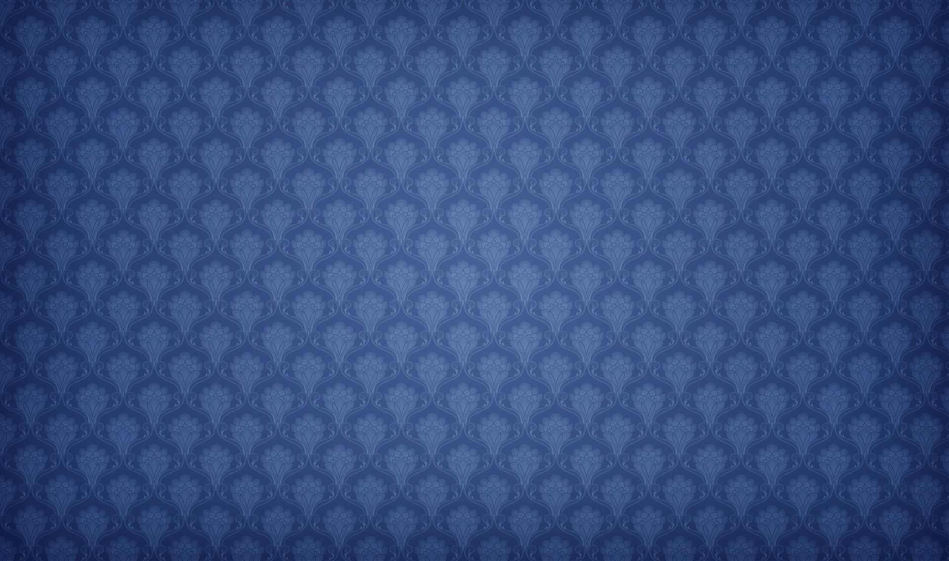 blue floral wall pattern hd abstract wallpaper