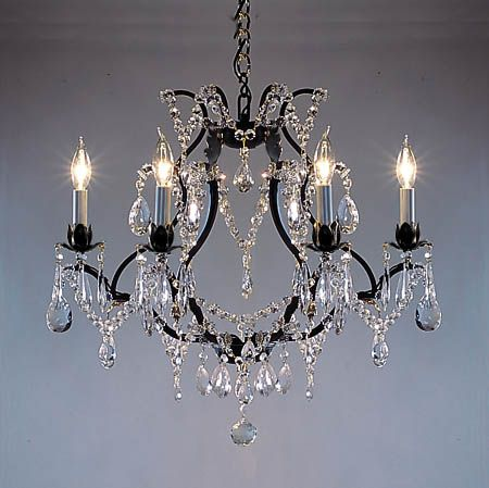 A83 30306 wrought iron chandelier chandeliers crystal chandelier a83 30306 wrought iron chandelier chandeliers crystal chandelier crystal chandeliers mozeypictures Images