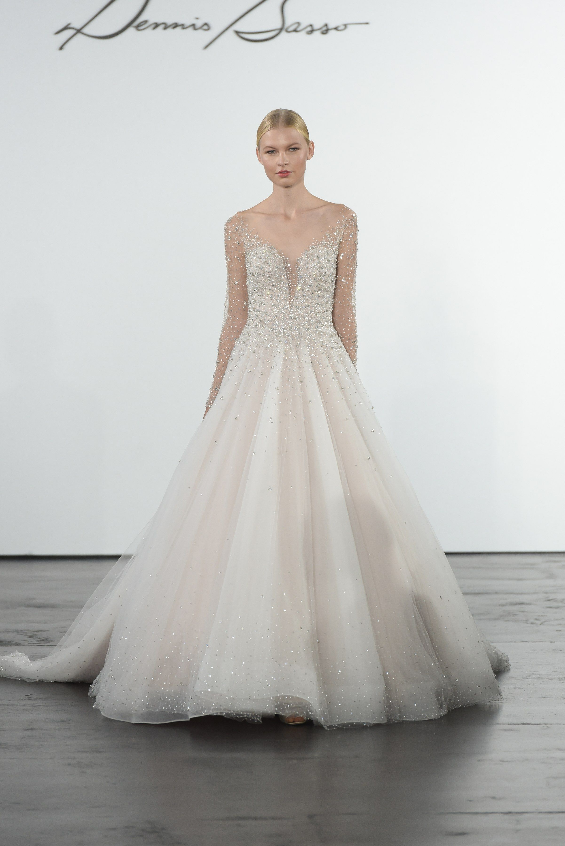 Dennis Basso for Kleinfeld Bridal & Wedding Dress Collection Fall ...