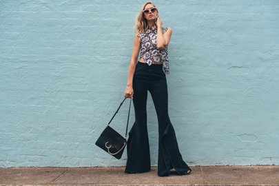Flared and fabulous. You know your pant game is strong when all you want to do is dance! Taking some time out to hit #Melbourne night life with the hubby.  Shop the look @liketoknow.it #MelbourneCupCarnival #NikkiPhillipsTakeover http://liketk.it/2pupg #liketkit