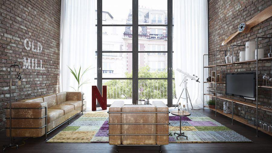 Trendiger Industrial Style - daheim.de Wohnjournal ...