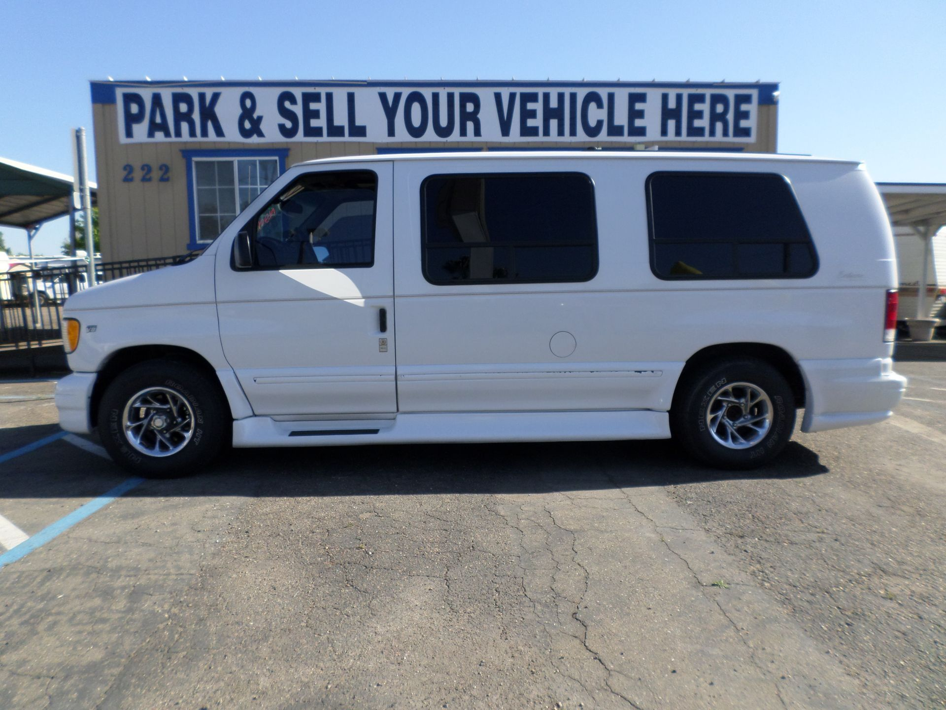 1999 Ford E 150 Conversion Van Van For Sale Van Conversion Vans