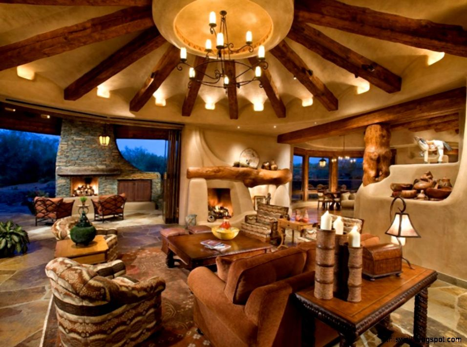 Western Interior Design Western Homestead Ranch Living Room Top Log Home Interior Southwest Interior Design Traditional Family Rooms