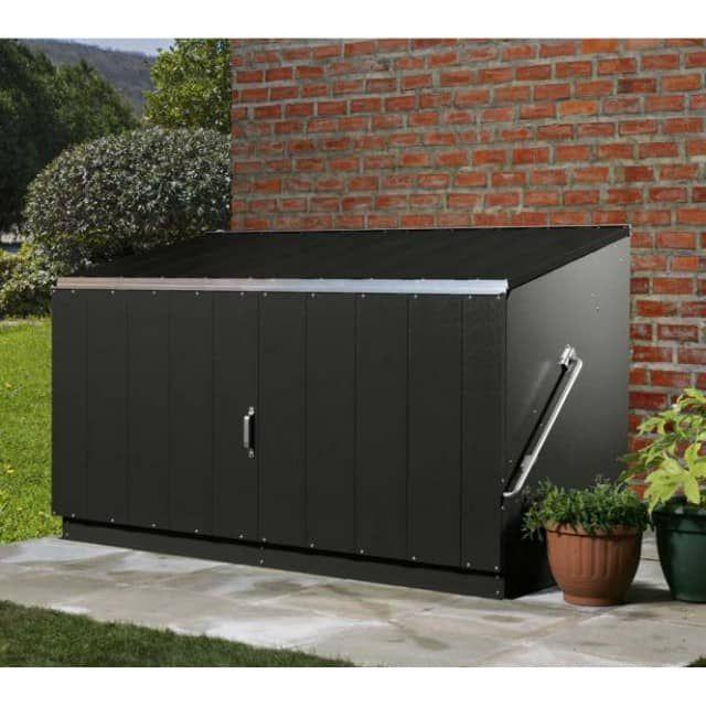 trimetals fahrradbox ger tebox aufbewahrungsbox storeguard anthr c o. Black Bedroom Furniture Sets. Home Design Ideas