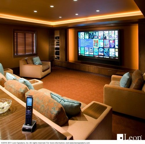 Home Entertainment Spaces: This Setup Definitely Has Potential. More Weighted Toward