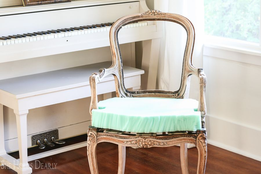 French Chair Makeover | French chairs, Cheap office chairs ...