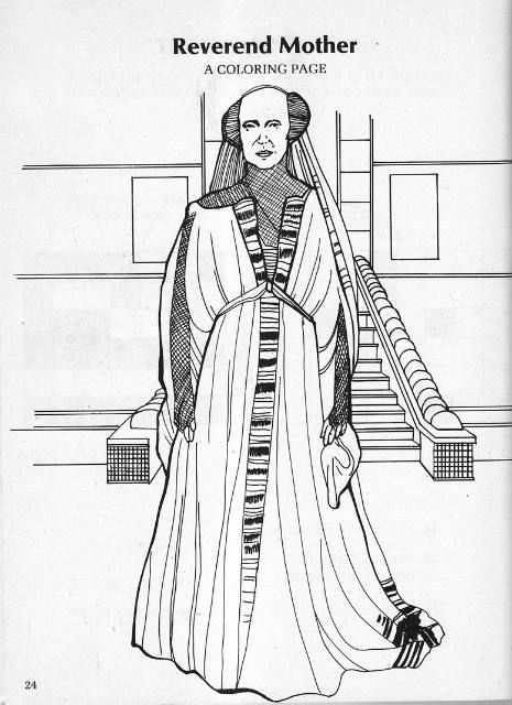 Dune Coloring Activity Book