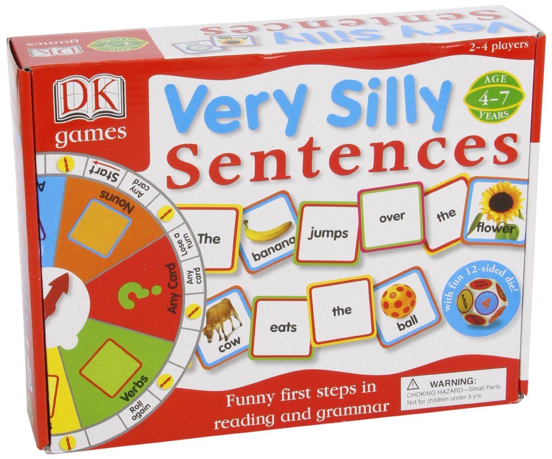 Very Silly Sentences Dk Publishing Dk Amazon