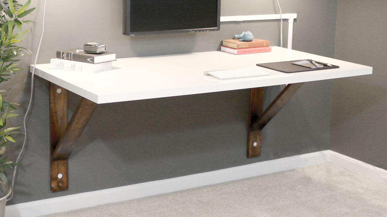 Design Wall Mounted Desk build a wall mounted desk diywithrick diy furniture decor diywithrick