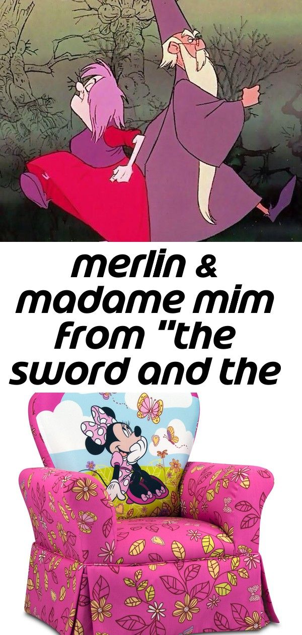 Merlin  madame mim from the sword and the stone  3 Merlin  Madame Mim from The Sword and The Stone  Disney Mickey Mouse Clubhouse Cuddly Cuties Skirted Rocker Girls