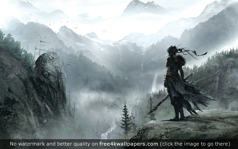 Senua Hellblade Hd Wallpaper Digital Wallpaper Hd Wallpaper Game Concept Art