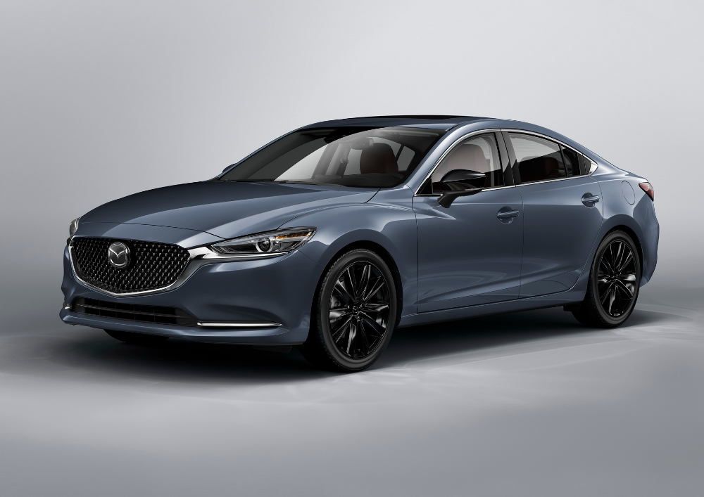 2021 Mazda6 Updated With New Carbon Edition Wireless Apple Carplay Carscoops In 2020 Mazda Mazda 6 Apple Car Play