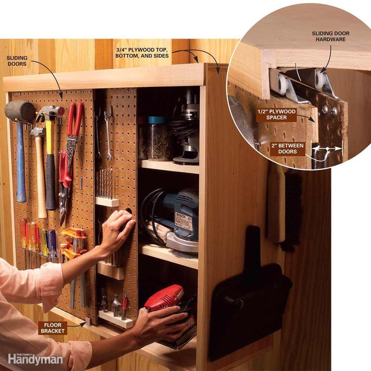 10 Life Changing Garage Organization Ideas   Workshop storage ...