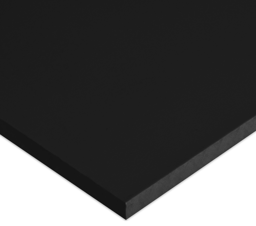 Hdpe Sheet Black 48x96x0 625 Plastic Sheets White King Sheet