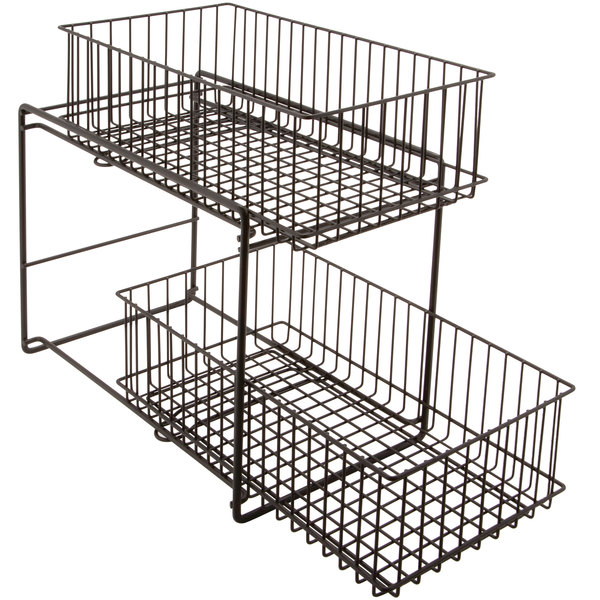 Get Wb 309 Mg Breeze 15 X 8 X 11 Metal Gray Sliding Shelf Baskets In 2020 With Images