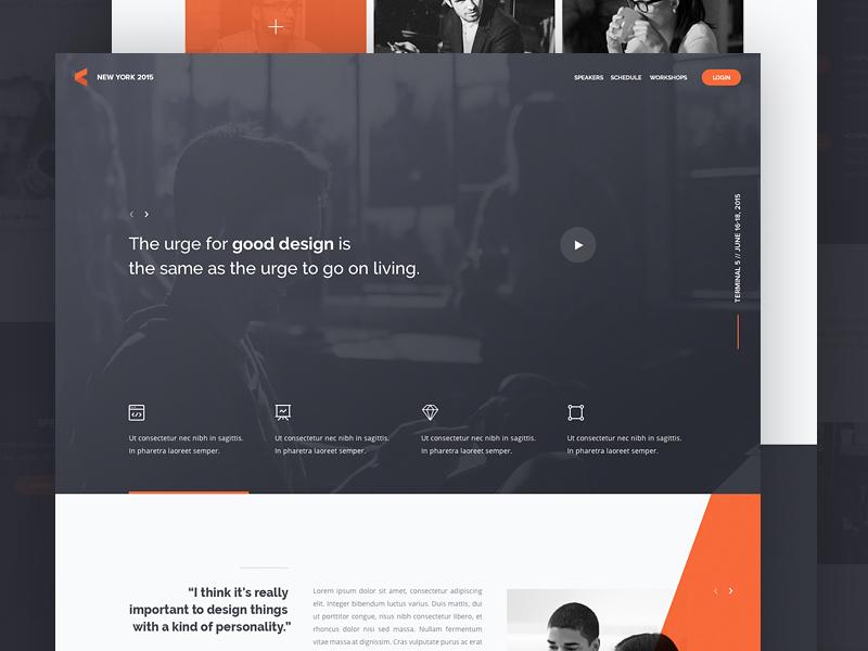 Landing Page Inspiration January 2017 Web Design Inspiration Web Design Header Design