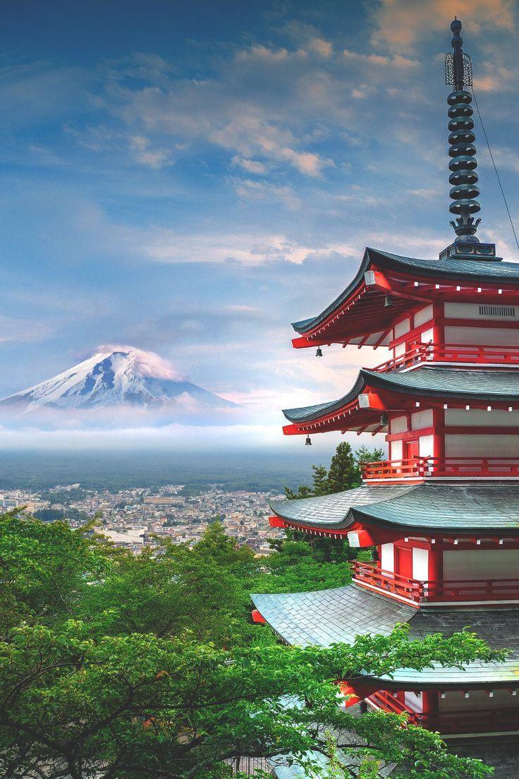 Kelledia's Garden — lsleofskye: Mt Fuji & Chureito Pagoda #mtfuji #japan #travel  #chureitopagoda #fujiyoshida #japantravel