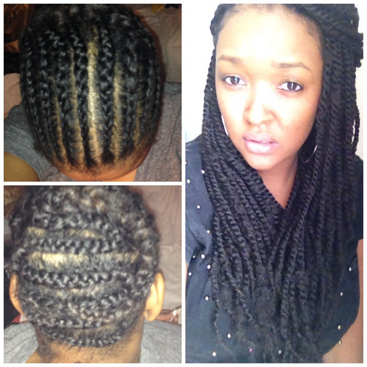 Pin By Cii Marqui On Cii Marqui S Hair Hair Styles Box Braids Hairstyles Marley Braiding Hair