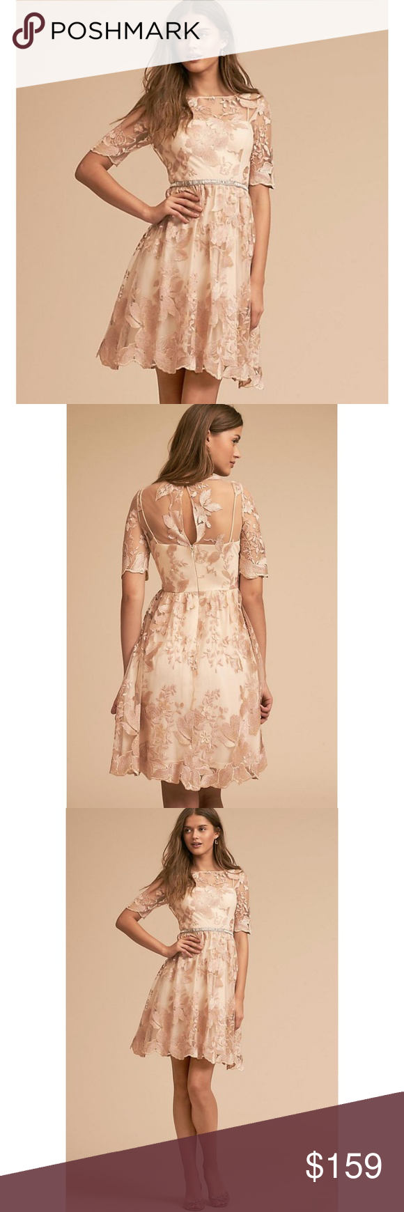052954f613fb ⚡FINAL SALE NWT ANTHROPOLOGIE Nadine Lace Dress Brand new with tags NWT  ANTHROPOLOGIE Adrianna Papell Nadine Dress. Allover lace in a classic  silhouette ...