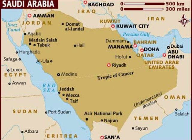 GEOGRAPHY This Is A Map Of The Middle East With Many Cities - Where is riyadh
