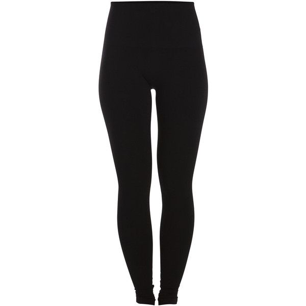 PIECES Shapewear Leggings (54 BRL) ❤ liked on Polyvore featuring pants, leggings, bottoms, jeans, black, slimming leggings, legging pants, slim fit pants, slim fit trousers and slim pants