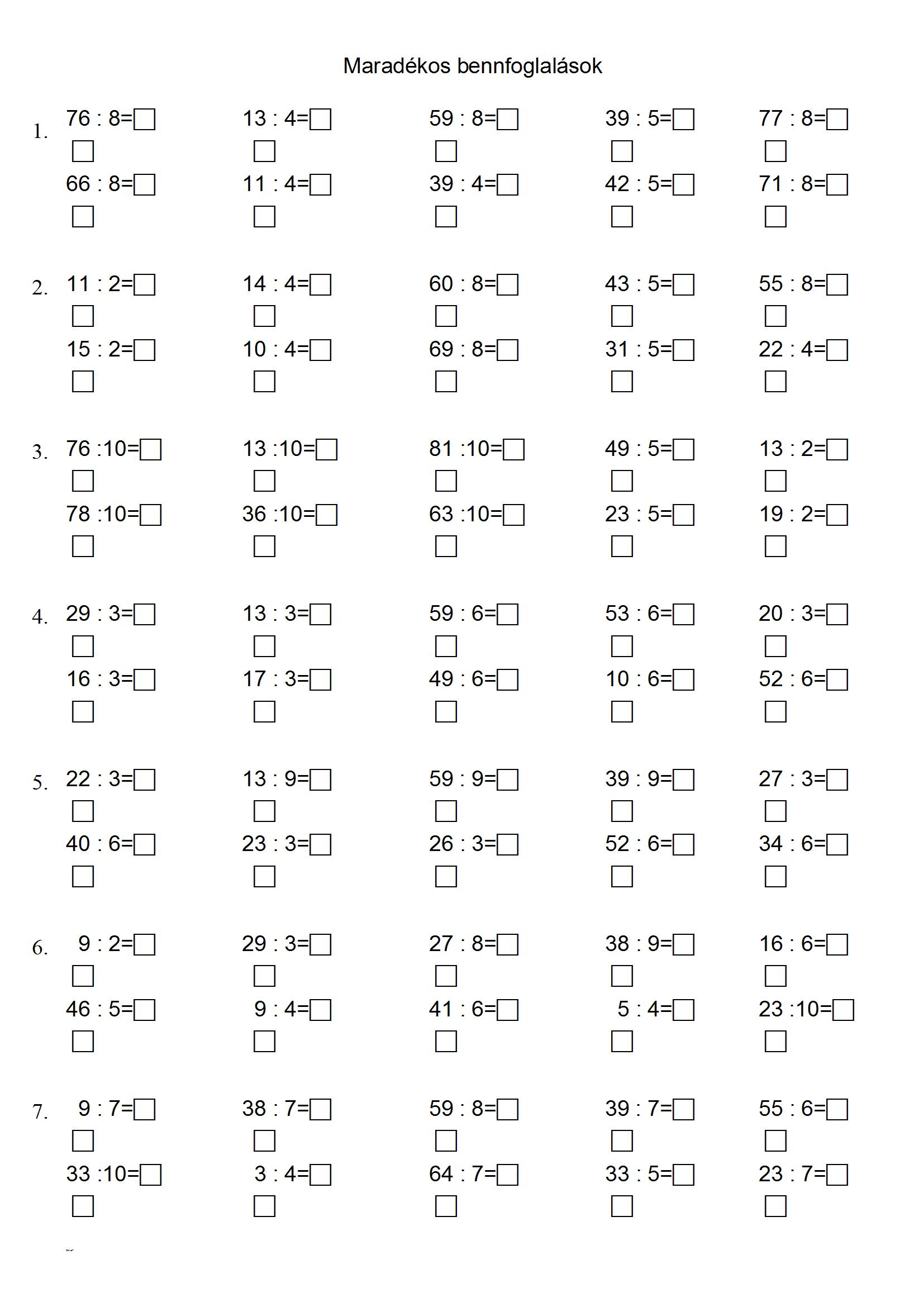 small resolution of Maradékos bennfoglalások1.doc   Homeschool math