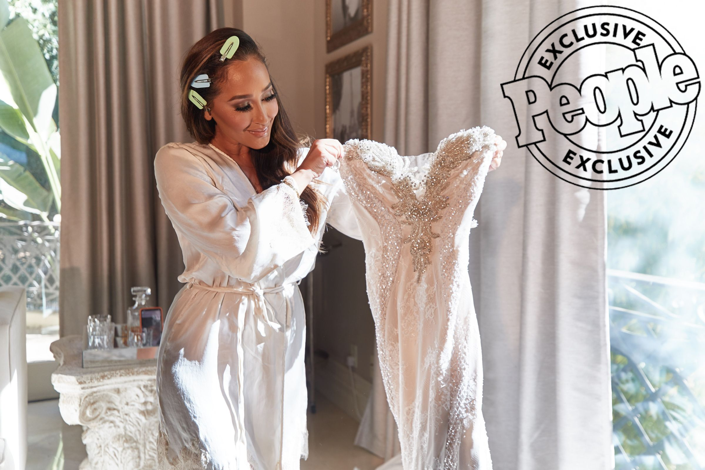 Photo of Adrienne Bailon Houghton Rewears Unaltered Wedding Dress 3 Years Later: 'It Fit the Exact Same'