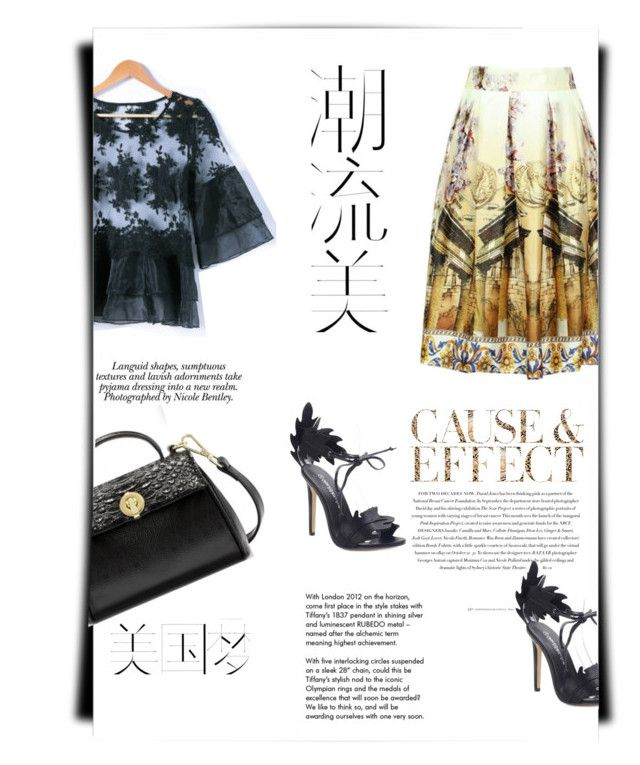 """""""Made in China"""" by theitalianglam ❤ liked on Polyvore featuring Hemingway, Envi:, Tiffany & Co. and Nicole"""