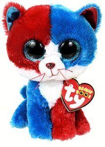 02797ee645d Firecracker the patriotic cat - Ty Beanie Boo