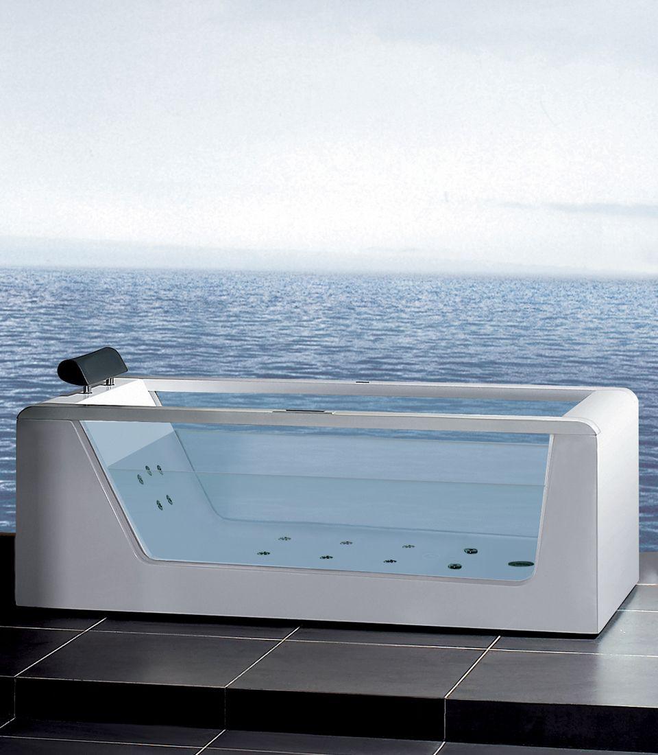 ARIEL Platinum AM152 59 | Ariel, Whirlpool bathtub and Bathtubs