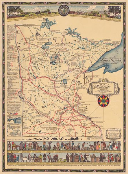 Historical Map Of MN Stuff To Buy Pinterest Historical - Buy historical maps