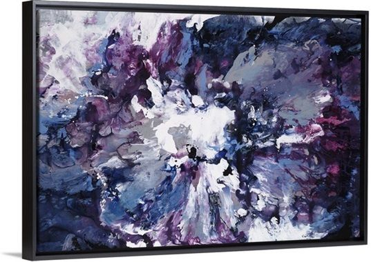 Purple Wall Great Big Canvas Wall Art
