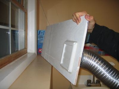 Solar space heater made from soda cans an old window Space heating options