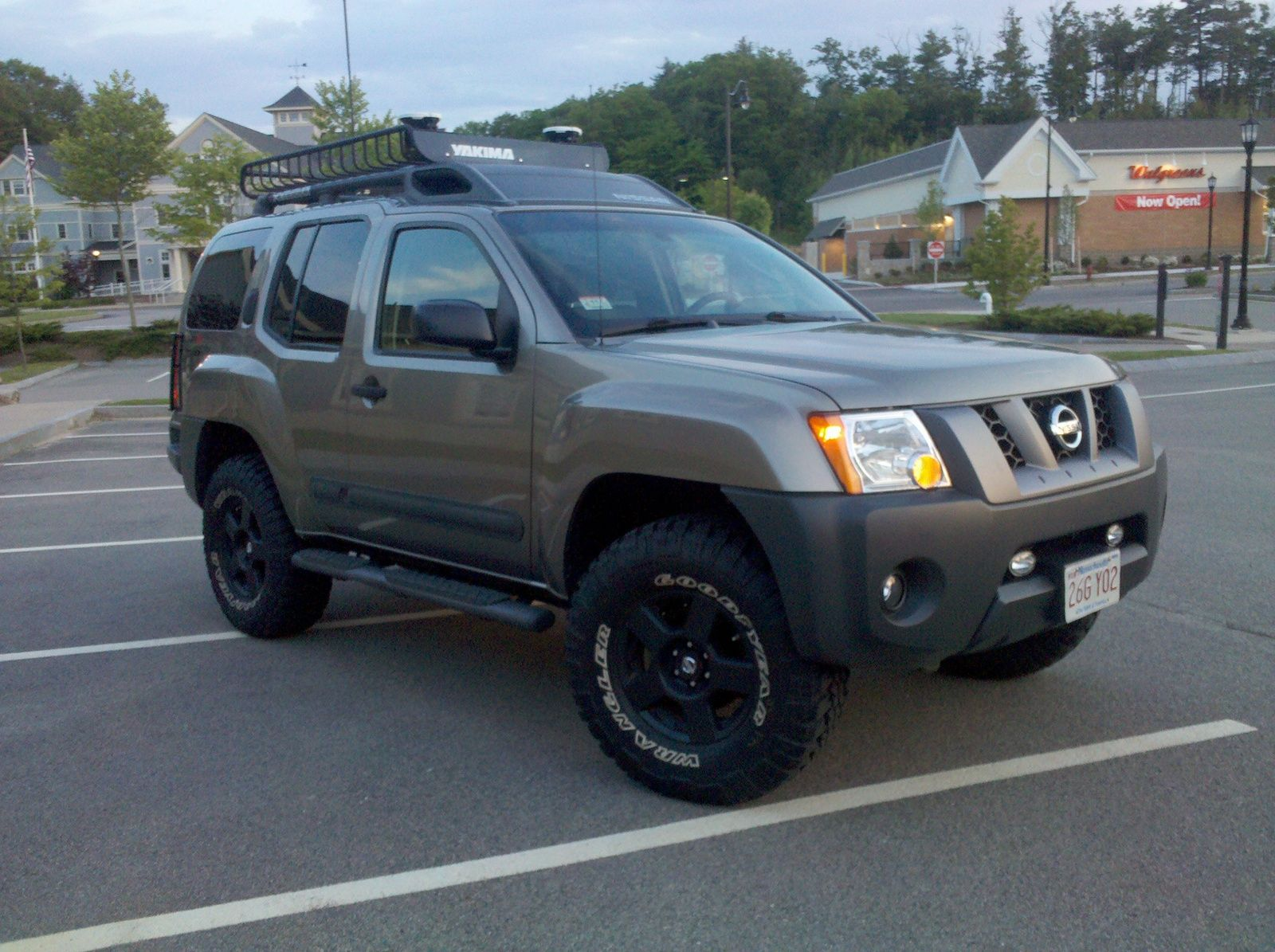 2007 nissan xterra off road 4x4