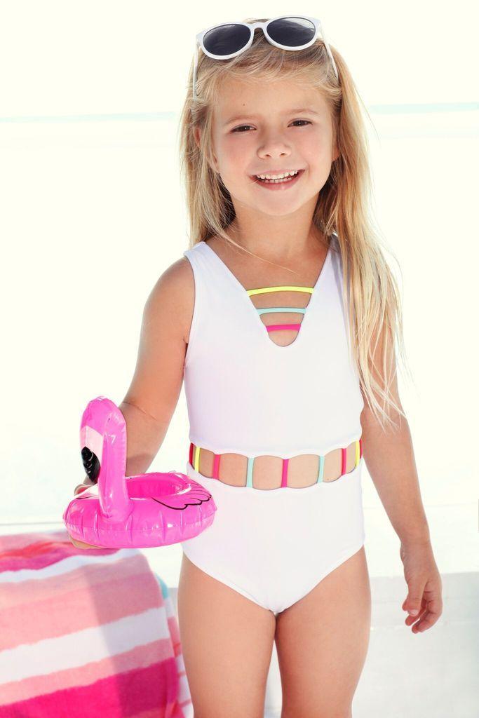 4a2428e77717 white kids one piece swimsuit  kidsswimwear  onepieceswimwear  whiteswimwear