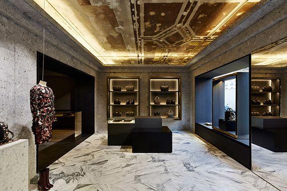 La nouvelle boutique Givenchy par Joseph Dirand Joseph dirand